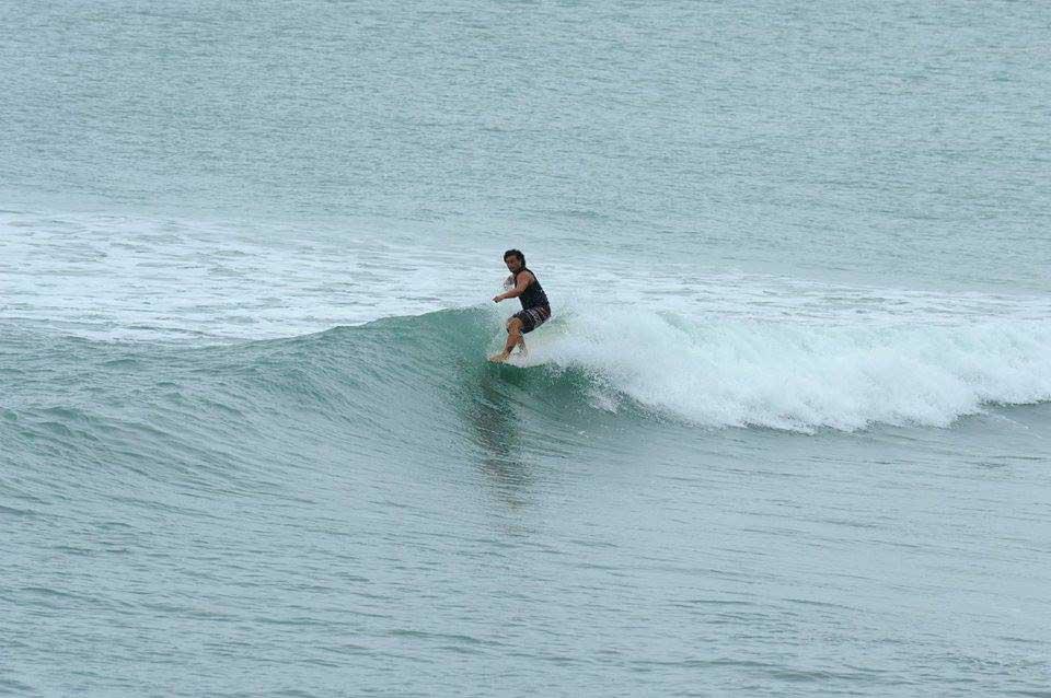 Surf's Up 東台湾 7月5~6日 三つ子台風からのウネリ
