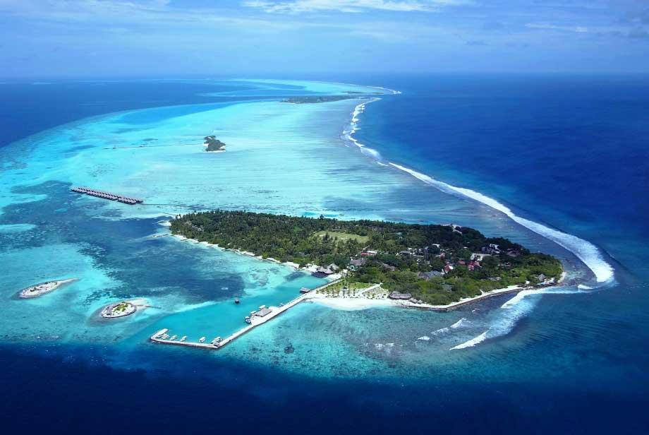 ccHudhuranfushi aerial shot