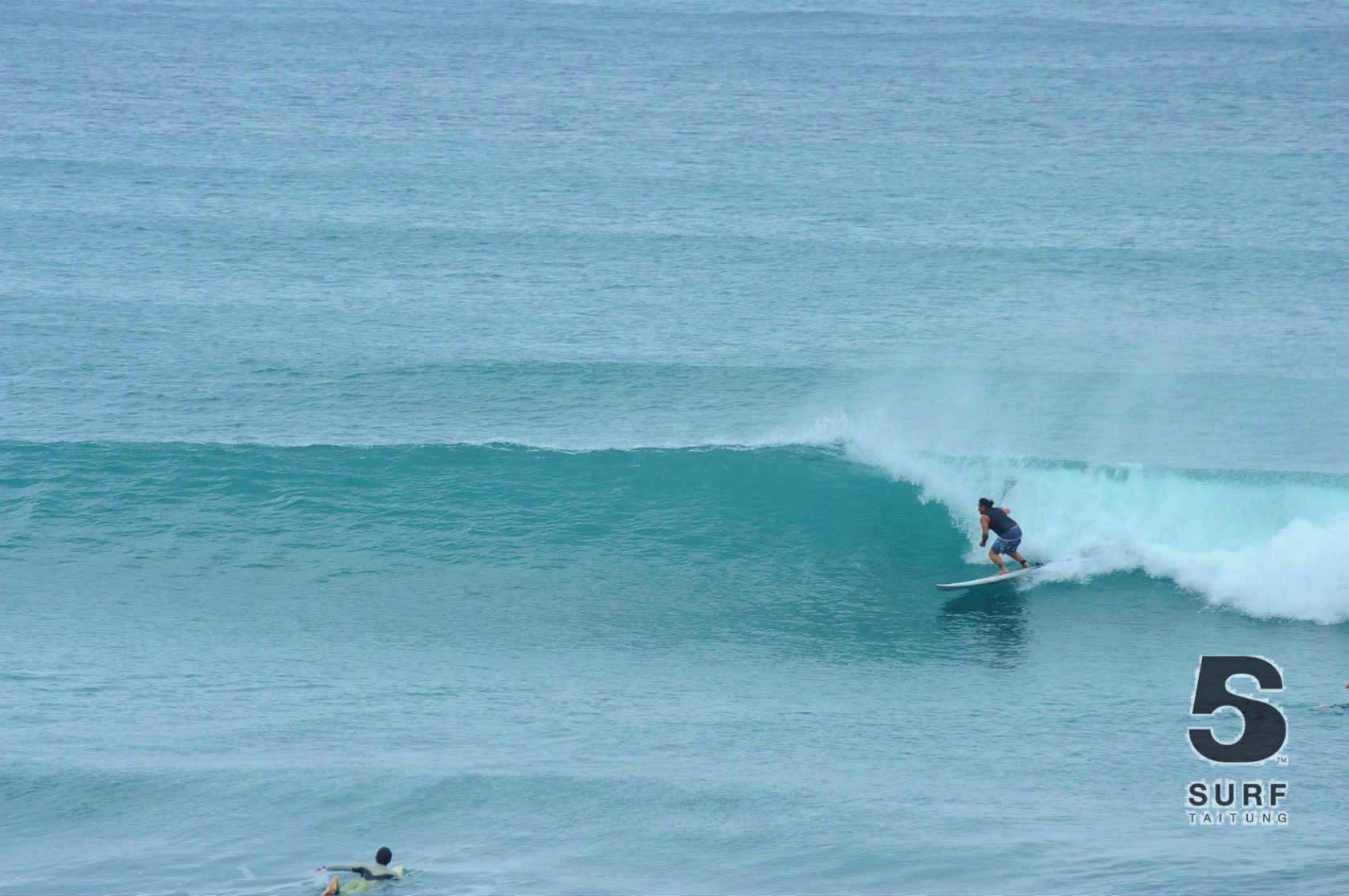 東台湾 サーフィン サーフポイント 東河 SUP