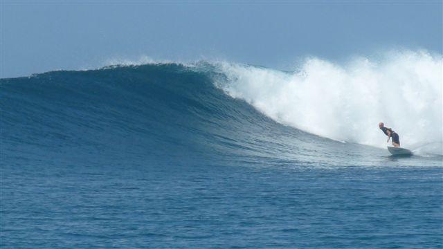 ブレイクスピードがちょうどよくて、サイズが多少大きくても安心して乗れるジェイルの波