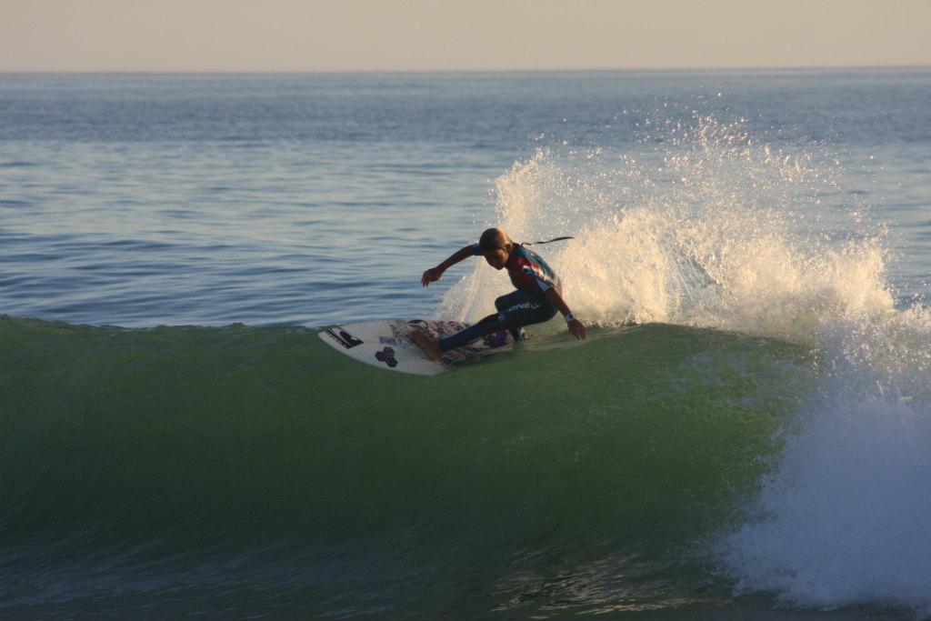 7年前にニューポートビーチで出会ったカノア五十嵐。まだ11歳とか12歳のカノアは今やWSLのTopアスリート。